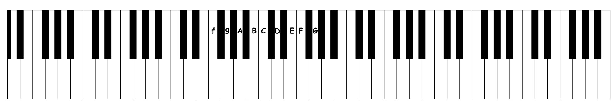 book 1 f to G - occupational octaves piano