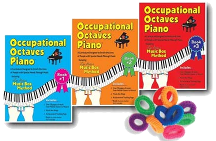 Occupational Octaves Piano – Books 1 – 3