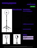 Specsheet for Item# 11183 Model#KS7190